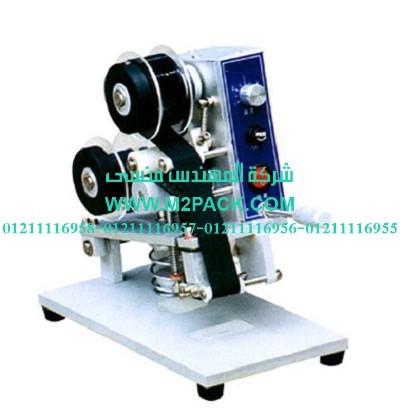 ماكينة طباعة الكود على الشريط موديل m2pack com hp – 30