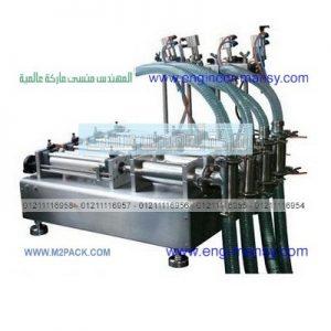 ماكينة تعبئة قوارير المياه البلاستيكية